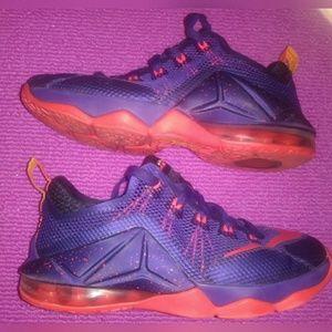 811d9e708de Nike Shoes - ⚡BF SALE⚡NIKE LEBRONS⚡RARE 12 LOW COURT PURPLE
